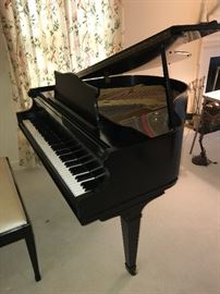 George Steck baby grand piano , can be sold prior to sale for asking price $3900.00  Mechanically and cosmetically in excellent condition.