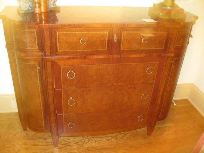 Beautiful mahogany, rosewood veneer secretary