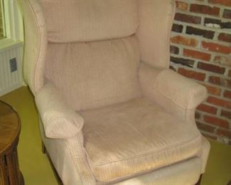 Wing recliner