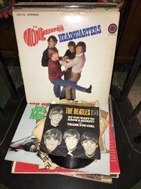 Monkees Beatles Albums