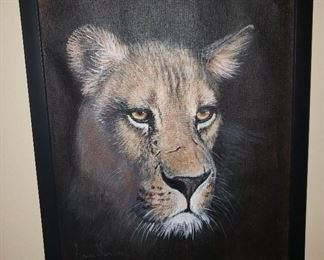 Oil Painting from African Artist Andre Meintjes