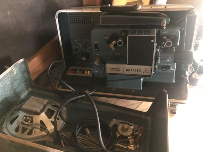 Graflex 16 MM Movie Projector