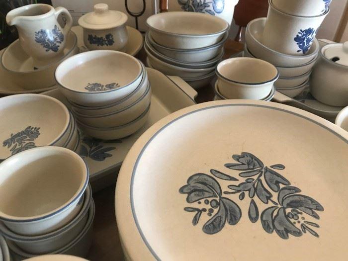 Pfaltzgraff Blue and White Dishes
