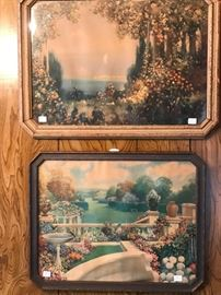 Large Collection of Prints by Robert Atkinson Fox art work.