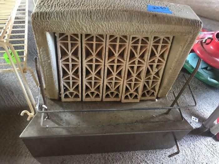 Antique Floor Furnace