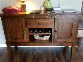 Matching buffet to dining table  $375
