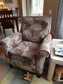 Flexsteel upholstered chair $175