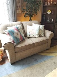 Matching Flexsteel loveseat $225