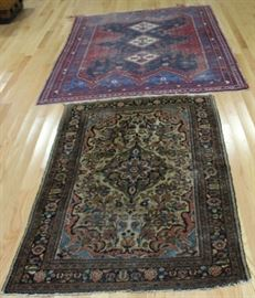 Antique and Finely Hand Woven Area Rugs AsIs
