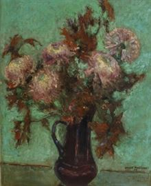 ALBERT HARRISON Signed Oil On Canvas