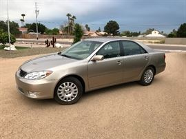 2005 Toyota Camry XLE with only 6,041 original miles Must see to believe  Vin # jtdbe32k853031822 Couple owner 2 cars and rarely drove this one