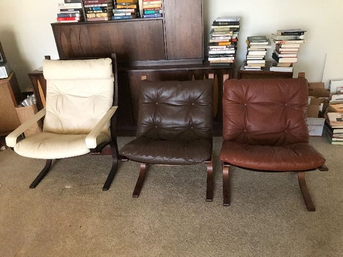 3 Siesta chairs
