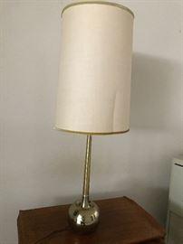 Brass Mid -Century Lamp