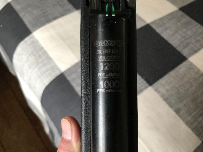 Gamo Pellet Gun w/4x scope Caliber 4.5 (1.77) pellet
