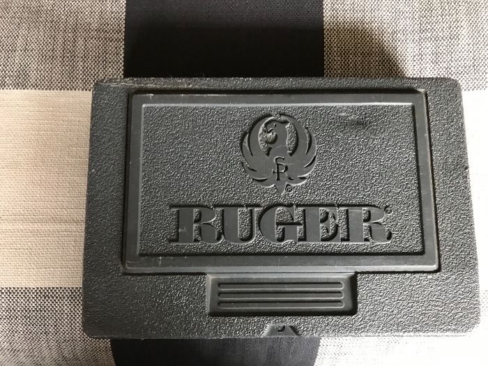 Ruger P89, 9mm with lazer sights and original case and paperwork