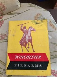 Vintage Winchester Firearms booklet