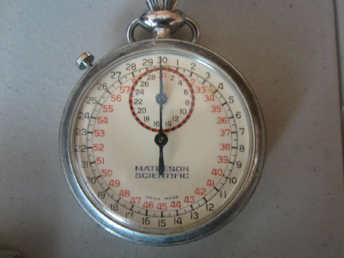 Matheson Scientific Stopwatch