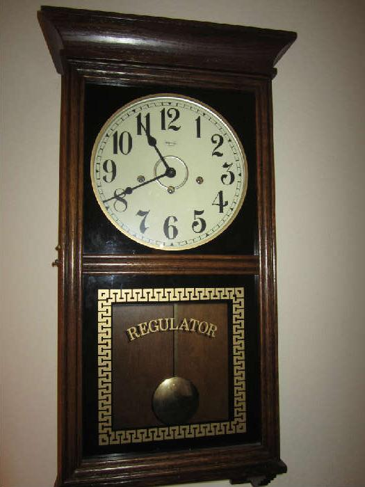 Ridgeway Regulator Clock