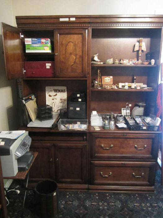 "This lovely Computer Desk with Filing Cabinet and Bookshelves is located in the ""office"".  We have many interesting items in here.  Religious Items, Christian Books, Bibles, Tablecloths, Patriotic Items, Office Items and Much, Much More!"