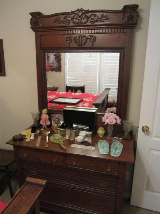 Beautiful Dresser that goes with the High Back Bed