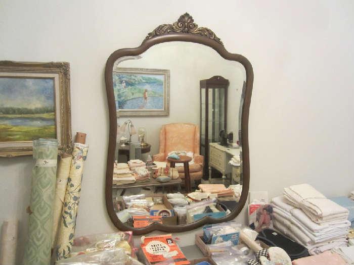 Nice Beveled Mirror