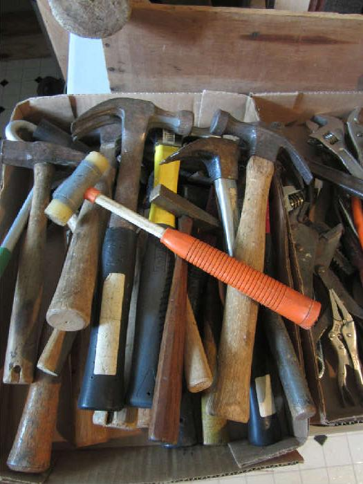 Lots of hammers!