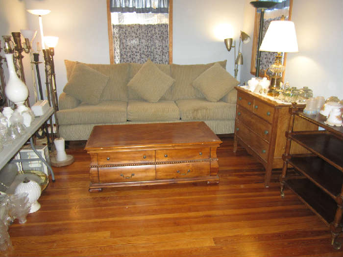 Nice Furniture and Light Fixtures. Most Need Some TLC