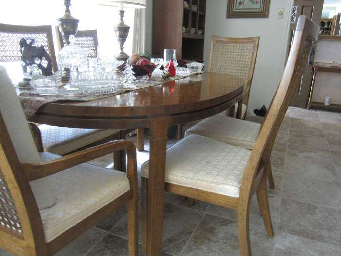 Another view of Drexel Table