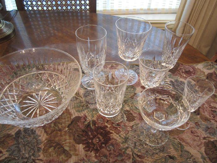 Waterford Crystal, Lismore Pattern, Large Selection
