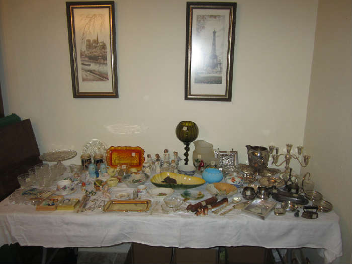 Silver Candelabra, Silverplate, Willow Tree, And Much More!