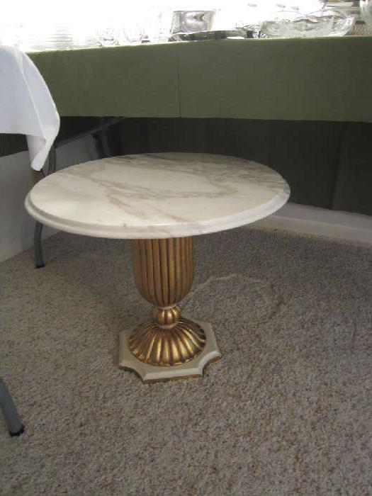 Pretty Marble Top Table