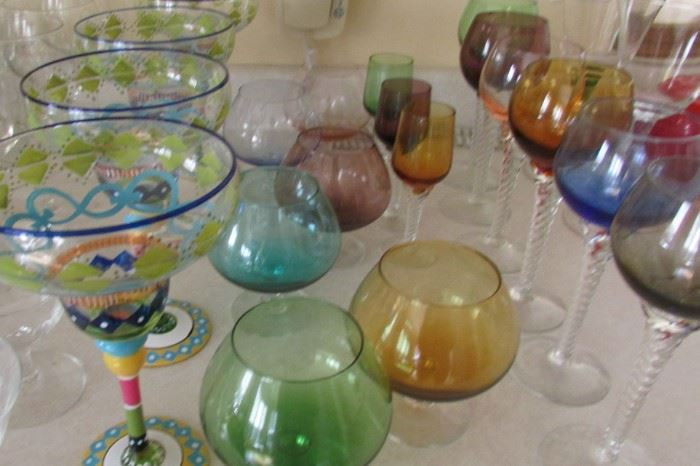 Spring Glassware