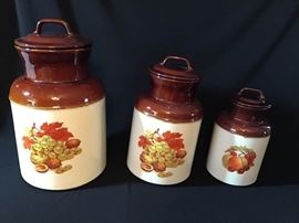 McCoy 3 Piece Canister Set