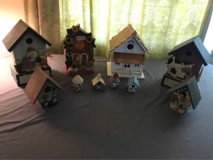 Birdhouse Collection