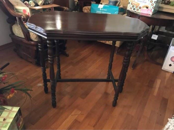 Antique Mahogany Accent Table