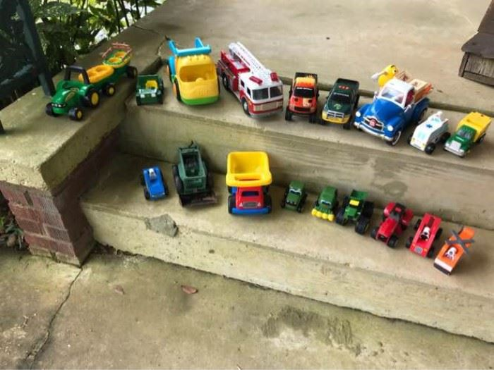 Truck and Tractor Toy Assortment