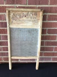 Vintage Atlantic No. 510 National Washboard