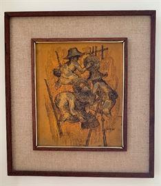 Artist:  Thumnu  - gold leaf painting