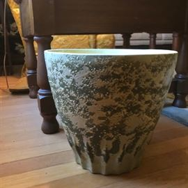 Large Mid Century Flower Pot