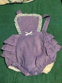 Vintage Baby and Toddler Clothes