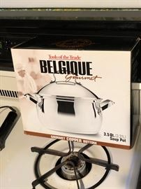 new belgique soup pot