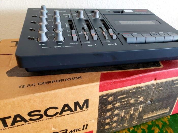 TASCAM 4- CHANNEL CASSETTE RECORDER
