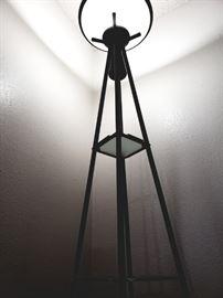 modern etegere floor lamp