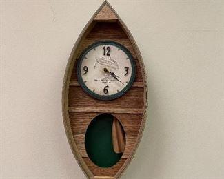 Canoe Clock
