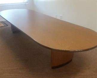 Huge conference room table
