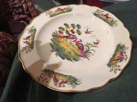 Set of 4 Bavarian Plates