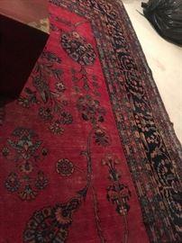 corner of the Hamaden rug