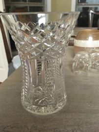 Waterford vase - we have a thimble, too!!