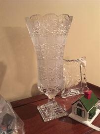 extra large cut vase