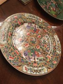 Rose Medallion Hong Horizons plate